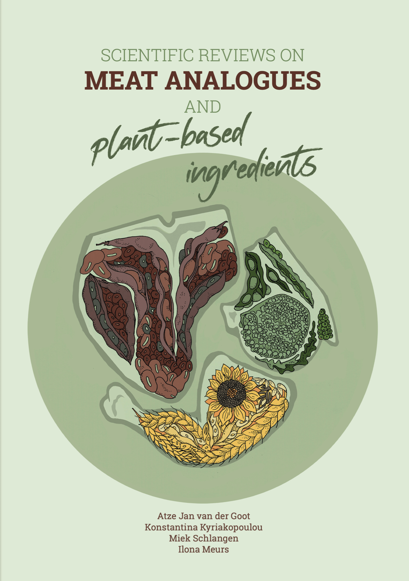 cover SCIENTIFIC REVIEWS ON  MEAT ANALOGUES  AND  PLANT-BASED INGREDIENTS