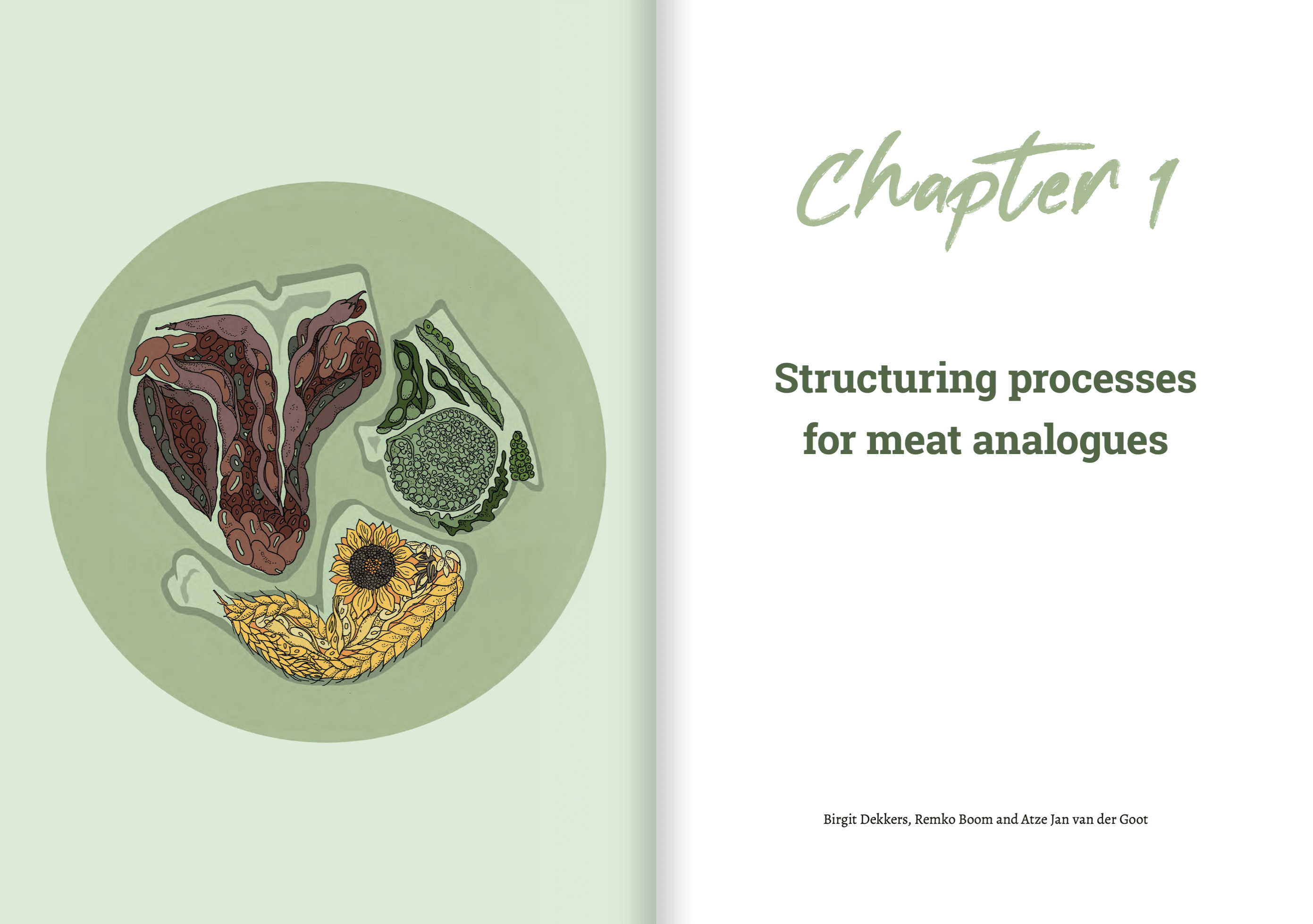 titlepage SCIENTIFIC REVIEWS ON MEAT ANALOGUES AND PLANT-BASED INGREDIENTS